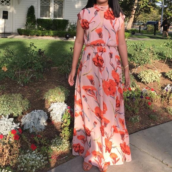 12e35ae1f0 Y.A.S. High Neck Floral Maxi Dress. M 5b52a611e944ba401ec79d5d